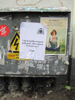 Ludieke posteractie drijft spot met Eijk